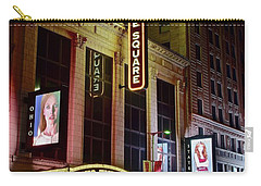 Carry-all Pouch featuring the photograph Ohio And State Theater by Frozen in Time Fine Art Photography