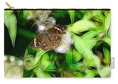 Carry-all Pouch featuring the photograph Ohio Buckeye by EricaMaxine  Price