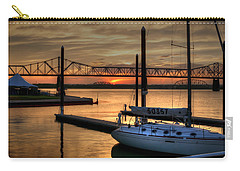Ohio River Sailing Carry-all Pouch