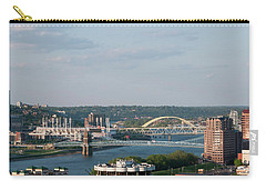 Ohio River's Suspension Bridge Carry-all Pouch