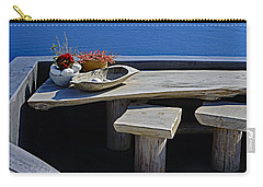 Oia Still Life On The Greek Island Of Thira Carry-all Pouch