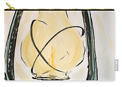 Carry-all Pouch featuring the painting Oil Lamp by Maria Langgle
