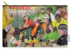 Oil- Luncheon Of The Cycling Party Carry-all Pouch