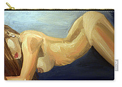 Oil Model Painting Carry-all Pouch by Alban Dizdari