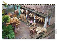 Vietnam Oil Paint Digital Basket Weaving  Carry-all Pouch