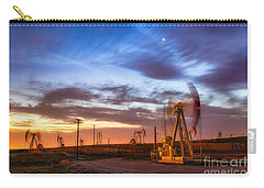 Oil Rigs 3 Carry-all Pouch