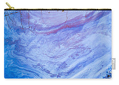 Oil Spill On Water Abstract Carry-all Pouch