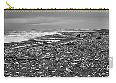 Carry-all Pouch featuring the photograph Okarito Beach - New Zealand by Steven Ralser
