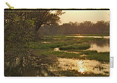 Okavango Delta Gold Carry-all Pouch