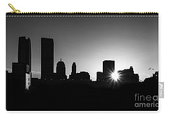 Carry-all Pouch featuring the photograph Oklahoma City by Betty LaRue