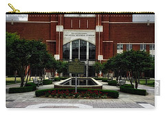 Oklahoma Memorial Stadium Carry-all Pouch by Center For Teaching Excellence