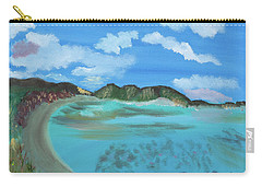 Okinowa Beach Reflections Carry-all Pouch