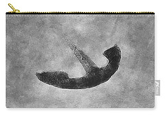Old Vintage Anchor Carry-all Pouch by Anton Kalinichev