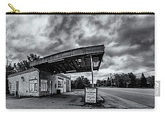 Old Auto Garage In Ellershouse Carry-all Pouch