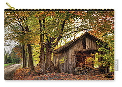 Old Autumn Shed Carry-all Pouch