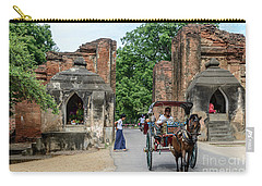 Old Bagan Carry-all Pouch by Werner Padarin