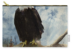 Old Baldy Carry-all Pouch by Sam Sidders