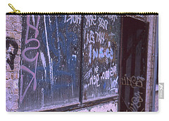 Old Bar, Old Graffitis Carry-all Pouch