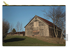 Old Barn On A Hill Carry-all Pouch