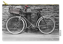 Old Bicycle Carry-all Pouch by Helen Northcott
