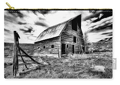 Old Black And White Barn Colorado. Carry-all Pouch