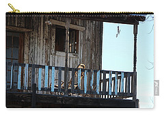 Old Blue Balcony Carry-all Pouch