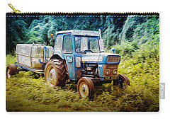 Old Blue Ford Tractor Carry-all Pouch