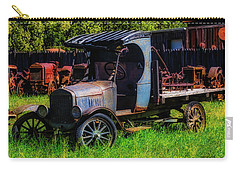 Old Blue Ford Truck Carry-all Pouch by Garry Gay