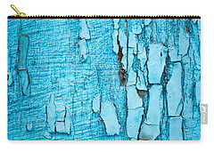 Carry-all Pouch featuring the photograph Old Blue Wood by John Williams