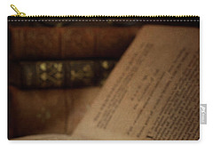 Old Book With Key Carry-all Pouch