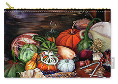 Old Bowl Cornucopia Carry-all Pouch