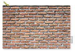 Carry-all Pouch featuring the photograph Old Brick Wall by Jingjits Photography
