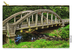 Old Bridge Central Virginia Carry-all Pouch by Melissa Messick