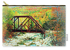 Old Bridge - New Hampshire Fall Foliage Carry-all Pouch