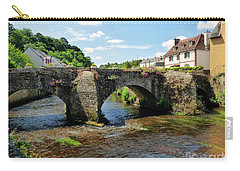 Old Bridge Over Elle River Quimperle, France Carry-all Pouch