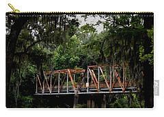 Old Bridge To Town Carry-all Pouch