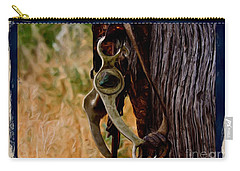 Old Bridle Carry-all Pouch