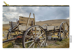 Old Buckboard Wagon Carry-all Pouch