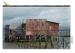 Old Building Astoria Oregon Carry-all Pouch