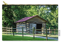 Carry-all Pouch featuring the photograph Old Building - The Hermitage by James L Bartlett
