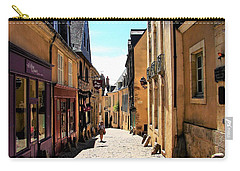 Old Buildings In France Carry-all Pouch