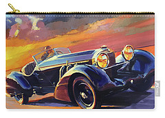 Old Car Racing Carry-all Pouch