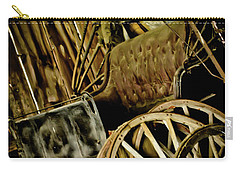Carry-all Pouch featuring the photograph Old Carriage by Joann Copeland-Paul
