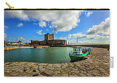 Old Carrickfergus Carry-all Pouch by Roy McPeak