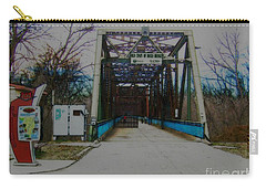 Old Chain Of Rocks Bridge Carry-all Pouch