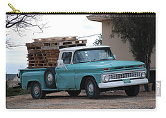 Carry-all Pouch featuring the photograph Old Chevy by Rob Hans