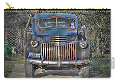 Carry-all Pouch featuring the photograph Old Chevy Truck by Savannah Gibbs