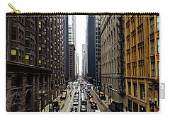 Old Chicago Skyscrapers 1890's Carry-all Pouch