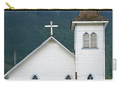 Carry-all Pouch featuring the photograph Old Church by Rod Wiens