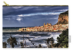 Old Coastal City  Carry-all Pouch by Patrick Boening